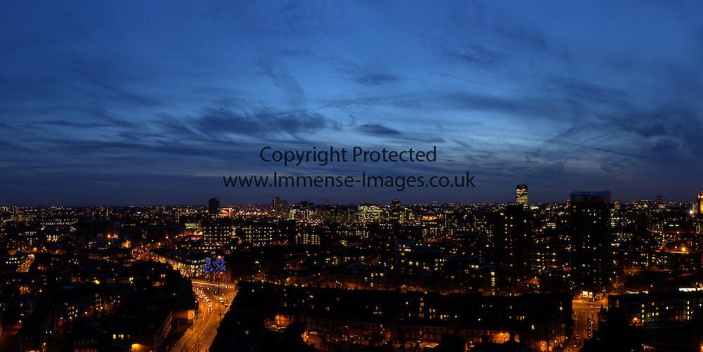 London Cityscape by Night