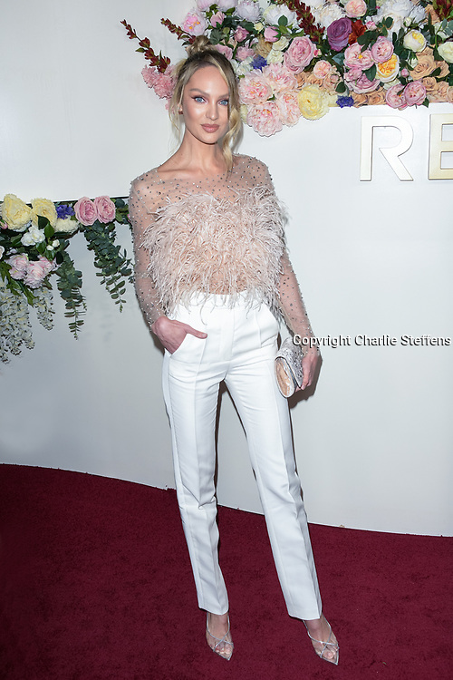 CANDICE SWANEPOEL attends the 3rd Annual #REVOLVEawards at Goya Studios in Los Angeles, California
