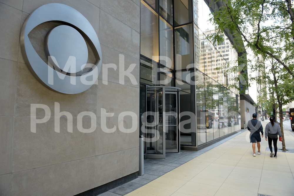 CBS 2 Chicago TV news building in Chicago, Illinois. Photo by Mark Black