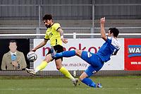 Macauley Southam-Hales. Eastleigh FC 1-0 Stockport County FC. Vanarama National League. Silverlake Stadium. 20.02.21