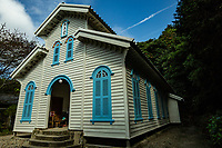 75.2 Egami Church 江上天主堂- In 1918 the descendants of Goto settlers cooperated to build the church under the direction of Tetsukawa Yosuke. Egami Village on Naru Island is part of the Hidden Christian legacy of migrants from the mainland who continued to practise their faith secretly during the ban on Christianity.  Egami Church was built using indigenous techniques and materials and demonstrates the cultural continuity with regards to the period of the ban on Christianity. The Egami Church is considered as the best example in terms of design and structure among the wooden church buildings constructed in the Nagasaki region from the 19th century onwards.