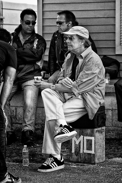 Director William 'MO' Friedkin on the set of the feature film 'Killer Joe' in New Orleans, LA.