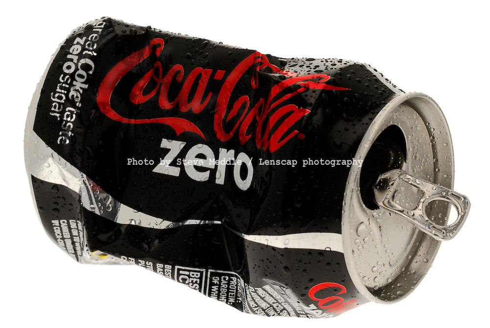Can of Coca Cola Zero