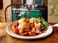 British Food -  Beef stew & dumplins