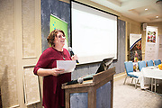 Repro free: 'Celebrating Galway City's Community Gardens at the Harvest Celebration Seminar in the Harbour Hotel were  Dee Sewell, Greenside Up & Community Gardens Ireland.<br /> <br /> This event was organised by European Green Leaf, Galway City Council, in conjunction with Let's Get Galway Growing, Galway City Partnership, Healthy Cities and European Region of Gastronomy'.<br /> Photo:Andrew Downes