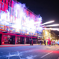 LIVERPOOL, UK, 1st March, 2014. The Everyman and Playhouse Theatre puppets open the newly built Everyman Theatre.