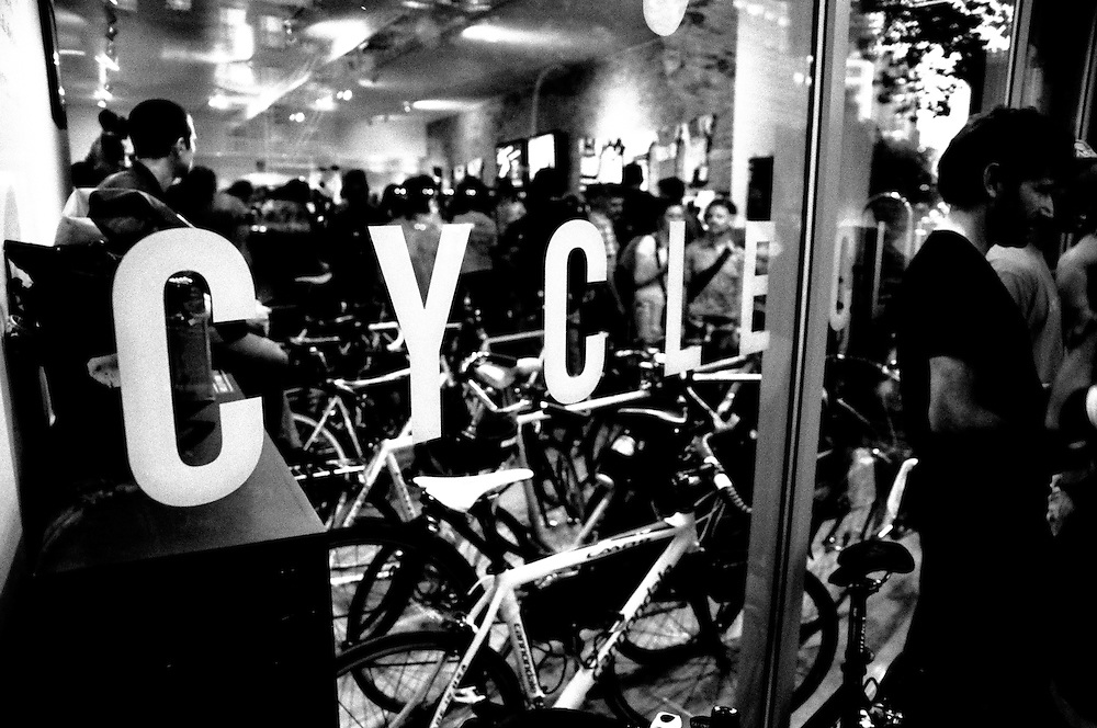 Rapha NYC 2010 Fastest Mechanic Competition