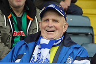 Dale supporter pre-match during the EFL Sky Bet League 1 match between Rochdale and Gillingham at Spotland, Rochdale, England on 23 September 2017. Photo by Daniel Youngs.