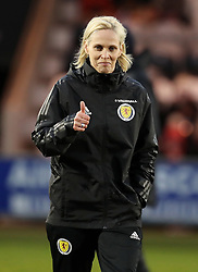 File photo dated 10-04-2018 of Scotland manager Shelley Kerr.