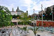 Eastern Europe, Hungary, Budapest, Godor coffee Shop