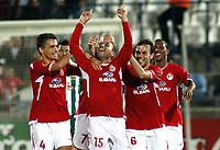 Fotball<br /> UEFA Europa League, Gruppenphase, Hapoel Tel-Aviv FC vs SK Rapid Wien<br /> 22.10.2009<br /> Foto: Gepa/Digitalsport<br /> NORWAY ONLY<br /> <br /> Bild zeigt den Jubel von Tel Aviv