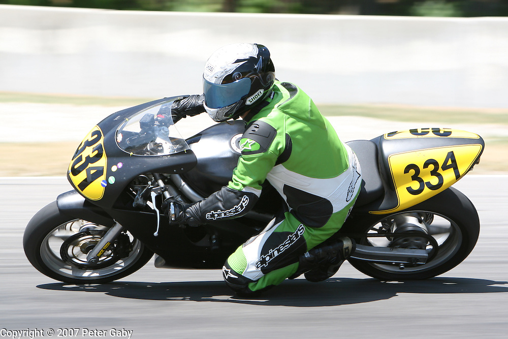 Cameron Fisher, Medina, MN. during the July 7th, 2007 Championship Cup Series Amateur Lightweight Grand Prix event at Road America