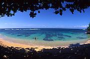 Beach, Windward Oahu, Hawaii, USA<br />