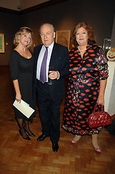 Left to right, KAY SAATCHI, JEREMY PILCHER and MEREDITH ETHERINGTON-SMITH at an auction in aid of The Parkinson's Appeal for Deep Brain Stimulation 'Meeting of Minds' held at Christie's, King Street, London SW1 followed by a dinner at St.John, 26 St.John Street, London on 16th October 2007.<br />