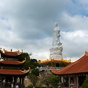 Ho Quoc Temple with Lady Buddha Statue, Phu quoc, Vietnam