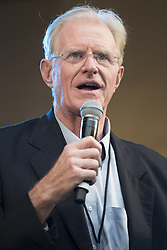 """October 23, 2016 - Los Angeles, California, United States - Actor and environmentalist, Ed Begley Jr, attends Climate Revolution Rally in Los Angeles, California. October 23, 2016. The rally is part of a series of """"Climate Revolution"""" rallies held across the country to inform people about issues related to climate change and social justice. (Credit Image: © Ronen Tivony/NurPhoto via ZUMA Press)"""