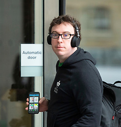 Sam Coates <br /> Deputy Political editor The Times <br /> Arrives at BBC <br />  Broadcasting House, London, Great Britain <br /> 31st March 2019<br /> <br /> Sam Coates <br /> Deputy Political editor The Times <br /> Arrives at BBC <br /> <br /> <br /> Photograph by Elliott Franks