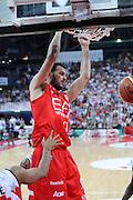 DESCRIZIONE : Pesaro Lega A 2011-12 Scavolini Siviglia Pesaro EA7 Emporio Armani Milano Semifinali Play off gara 4<br /> GIOCATORE : Antonis Fotsis<br /> CATEGORIA : schiacciata tiro<br /> SQUADRA : EA7 Emporio Armani Milano<br /> EVENTO : Campionato Lega A 2011-2012 Semifinale Play off gara 4<br /> GARA : Scavolini Siviglia Pesaro EA7 Emporio Armani Milano<br /> DATA : 04/06/2012<br /> SPORT : Pallacanestro <br /> AUTORE : Agenzia Ciamillo-Castoria/C.De Massis<br /> Galleria : Lega Basket A 2011-2012  <br /> Fotonotizia : Pesaro Lega A 2011-12 Scavolini Siviglia Pesaro EA7 Emporio Armani Milano Semifinale Play off gara 4<br /> Predefinita :