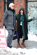 Tim Robbins strolls with his younger girlfriend - 22 Jan 2018