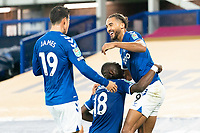Football - 2020 / 2021 League (Carabao) Cup - Round 4 - Everton vs West Ham United - Goodison Park<br /> <br /> Everton's Dominic Calvert-Lewin celebrates scoring his sides fourth goal <br /> <br /> <br /> COLORSPORT/TERRY DONNELLY