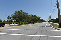 The spot where golfer Tiger Woods was picked up for suspected DUI. He was arrested just south of Indian Creek Road, on Military Trail, heading south, in Jupiter, Florida. Woods was arrested driving just a few miles from his Florida home and the town where he owns a sports bar at 3am on Monday morning. Locals say the 41-year-old mult-millionaire golfer is a regular visitor to The Woods, Jupiter, which is a ten minute drive from his home at Hobe Sound. It is not known whether he had been there on the night of his arrest. Only last week, Woods expressed his desire to return to competition after his recent back surgery. Police said he was seen driving erratically and apparently 'arrogant' after being pulled over. It is not known if he was alone in his 2015 Mercedes or if he was under the influence of drugs or alcohol. In August 2015, he opened a restaurant at Harbourside Place, which is a modern upscale sports bar. It boasts of being a place to 'celebrate like a champion.' The 14-time major champion has not played since he withdrew from the Dubai Desert Classic on Feb. 3. Woods, who has earned more than $110 million on Tour with 79 victories since 1996, has played in just one event this year and pulled out of The Masters. Woods' clean-cut image came apart on Thanksgiving night 2009 when then-wife Elin Nordegren chased him out of their $2.4 million Florida mansion with a golf club after learning of his serial cheating. Woods crashed his car, opening the floodgates of stories about his wild sexcapades. He eventually entered rehab for sex addiction. Woods and Nordegren's divorce was finalized in 2010. 29 May 2017 Pictured: location of Tiger Woods arrest. Photo credit: Michele Eve Sandberg / MEGA TheMegaAgency.com +1 888 505 6342