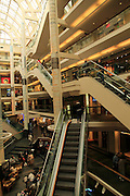 Inside Galleriet Shopping centre, city of Bergen, Norway