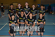 U14 Shires Finals - Team photos 2017