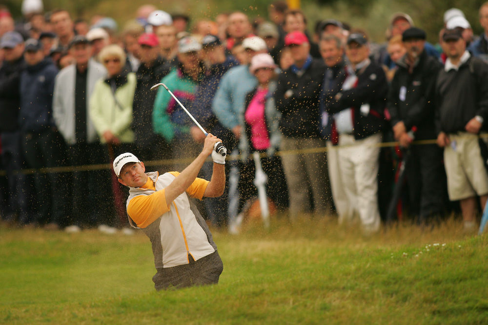 Retief Goosen during the second round of the 2008 Open Championship at Royal Birkdale Golf Club in Southport, England, UK on Friday, July 18 2008. .