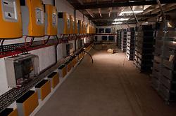 Battery Bay for Solar Photovoltaic Array, Turtle Island, Yasawa Islands, Fiji
