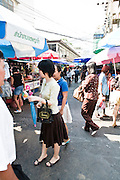 Soi Ari street market.