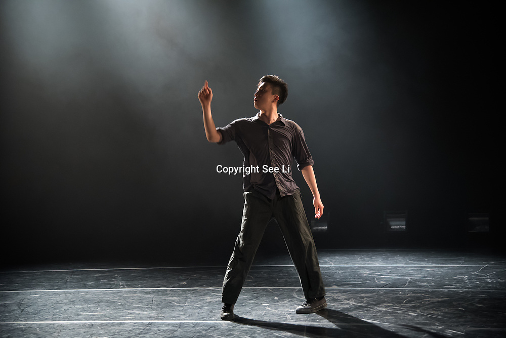 A Festival of Korean Dance - Swan Lake presscall at The Place on 11 May 2018, London, UK.