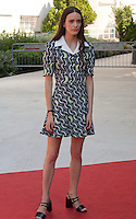 Actress Stacy Martin at the gala screening for the film The Childhood of a Leader at the 72nd Venice Film Festival, Saturday September 5th 2015, Venice Lido, Italy.
