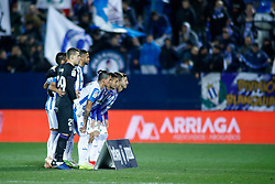 November 23, 2018 - Leganes, MADRID, SPAIN - Leganes Team during the Spanish Championship La Liga football match between CD Leganes and Deportivo Alaves on November 23th, 2018 at Estadio de Butarque in Leganes, Madrid, Spain. (Credit Image: © AFP7 via ZUMA Wire)