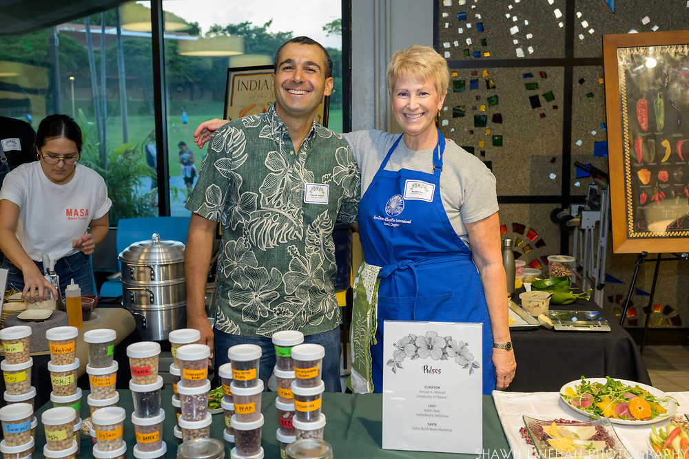 PULSES<br /> Curator: Amjad A. Ahmad, University of Hawai'i Chef: Kathi Saks, ImPerfectly Delicious