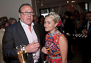 RAY WINSTONE; JAIME WINSTONE, Opening of 'The Promised Land' Exhibition of work by Mitch Griffiths. Halcyon Gallery. Bruton St. London. 28 April 2010 *** Local Caption *** -DO NOT ARCHIVE-© Copyright Photograph by Dafydd Jones. 248 Clapham Rd. London SW9 0PZ. Tel 0207 820 0771. www.dafjones.com.<br /> RAY WINSTONE; JAIME WINSTONE, Opening of 'The Promised Land' Exhibition of work by Mitch Griffiths. Halcyon Gallery. Bruton St. London. 28 April 2010