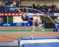 Millrose Games: high school girls pole vault,
