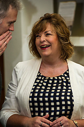 Pictured: Fiona Hyslop<br /> Culture Secretary Fiona Hyslop MSP visited Wester Hailes Library in Edinburgh today to meet primary-school pupils and Edinburgh City Council officials  to announce libraries support package<br /> <br /> Ger Harley   EEm 7 September 2016