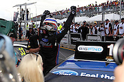 Race winner Shane van Gisbergen (SP Tools Racing). ITM 400 ~ Race 5 & 6 of the 2011 V8 Supercar Championship Series. Hamilton Street Circuit on Sunday 17 April 2011. Photo © Clay Cross / PHOTOSPORT