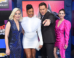 'The LEGO Movie 2: The Second Part' World Premiere at Village Theatre on February 2, 2019 in Westwood, CA. © O'Connor/AFF-USA.com. 02 Feb 2019 Pictured: Elizabeth Banks, Tiffany Haddish, Chris Pratt and Alison Brie. Photo credit: O'Connor/AFF-USA.com / MEGA TheMegaAgency.com +1 888 505 6342