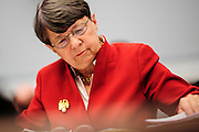 SEC Chairman Mary Jo White testifies before the House Financial Services Committee on Capitol Hill in Washington, District of Columbia, U.S., on Thursday, May 16, 2013. Photographer: Pete Marovich/Bloomberg