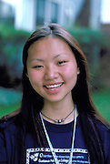 Asian student age 16 who attended art camp at Gustavus College.  St Paul Minnesota USA