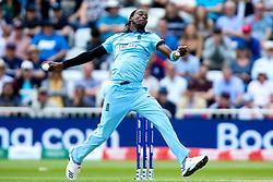Jofra Archer of England bowls - Mandatory by-line: Robbie Stephenson/JMP - 03/06/2019 - CRICKET - Trent Bridge - Nottingham, England - England v Pakistan - ICC Cricket World Cup 2019 Group Stage