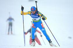 Lyudmyla Pysarenko (UKR) at Women 15 km Individual at E.ON Ruhrgas IBU World Cup Biathlon in Hochfilzen (replacement Pokljuka), on December 18, 2008, in Hochfilzen, Austria. (Photo by Vid Ponikvar / Sportida)