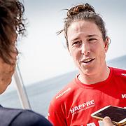 © Maria Muina I MAPFRE: Presentación oficial MAPFRE In the Volvo Ocean Race.