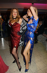 JERRY HALL and her wax work at Andy & Patti Wong's annual Chinese New year Party, this year to celebrate the Year of The Pig, held at Madame Tussauds, Marylebone Road, London on 27th January 2007.<br /><br />NON EXCLUSIVE - WORLD RIGHTS