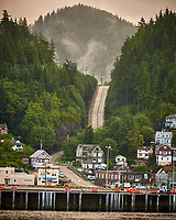 Ketchikan. Image taken with a Nikon D300 camera and 70-300 mm VR lens.