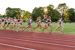 Adrian Martinez Classic track meet, Women's High Performance Adro Mile, Rachel Schneider leads Schneider, Fields