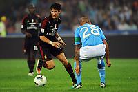 Pato ( Milan ) Cannavaro Paolo ( Napoli )<br /> Napoli - Milan - Campionato Serie A TIM 2011/12<br /> Napoli, 18.09.2011 - Stadio San Paolo<br /> Insidefoto