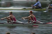 © Intersport Images <br /> email info@Intersport-images.com<br /> [Mandatory Credit;Peter Spurrier/Intersport Images]<br /> <br /> Photo Peter Spurrier<br /> Junior World Rowing Championships 2001<br /> 7  - 11th August 2001<br /> Regattabahn Duisburg -Wedau.<br /> <br />  Repecharge, Junior men's Double Sculls. 20010808 FISA Junior World Rowing Championships, Duisburg. Germany