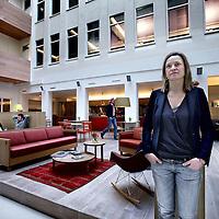 Nederland, Amsterdam , 21 februari 2013.<br /> Frederique Keining Managing Director of Spaces, een bedrijfsverzamelgebouw aan de Herengracht.<br /> Foto:Jean-Pierre Jans